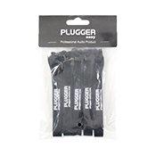 PluggerAttaches câbles Noir Pack de 10