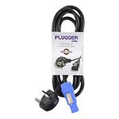 PluggerCâble d'alimentation Powercon norme UK 1.8m Elite