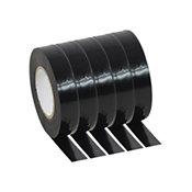 PluggerPVC Tape Black Pack 20 mètres