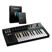 Native Instruments Kontrol S25 + Upgrade Komplete 11 Select