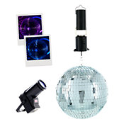 BoomTone DJMirror Ball Pack