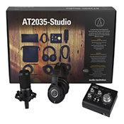 Audio TechnicaAT 2035 Studio pack