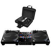 Pioneer DJDJM S9 + 2x PLX 1000 + Bag Pack