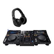 Pioneer DJ2x XDJ-700 + DJM 450 + HDJ-X5K