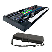 Novation49SL MkIII + housse CTRL Case 49 Key