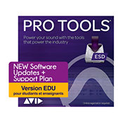 AVIDAvid - Pro Tools Rétablissement licence électronique version EDU