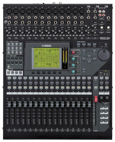 01v96i console de mixage num rique yamaha univers sons - Console de mixage numerique ...