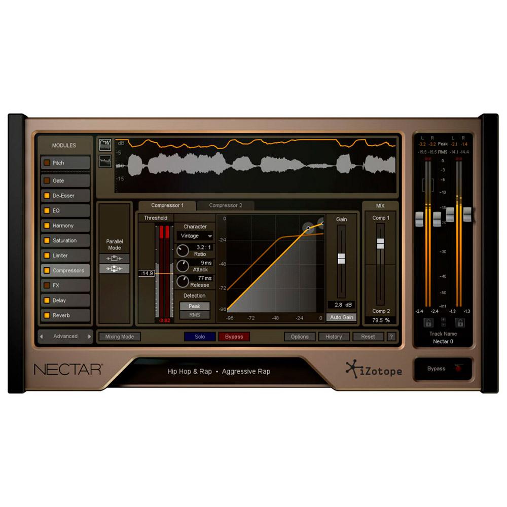 nectar 2 production suite logiciel plugins d 39 effets izotope univers sons. Black Bedroom Furniture Sets. Home Design Ideas