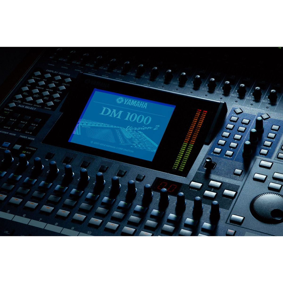Dm1000vcm console de mixage num rique yamaha univers sons - Console de mixage numerique ...