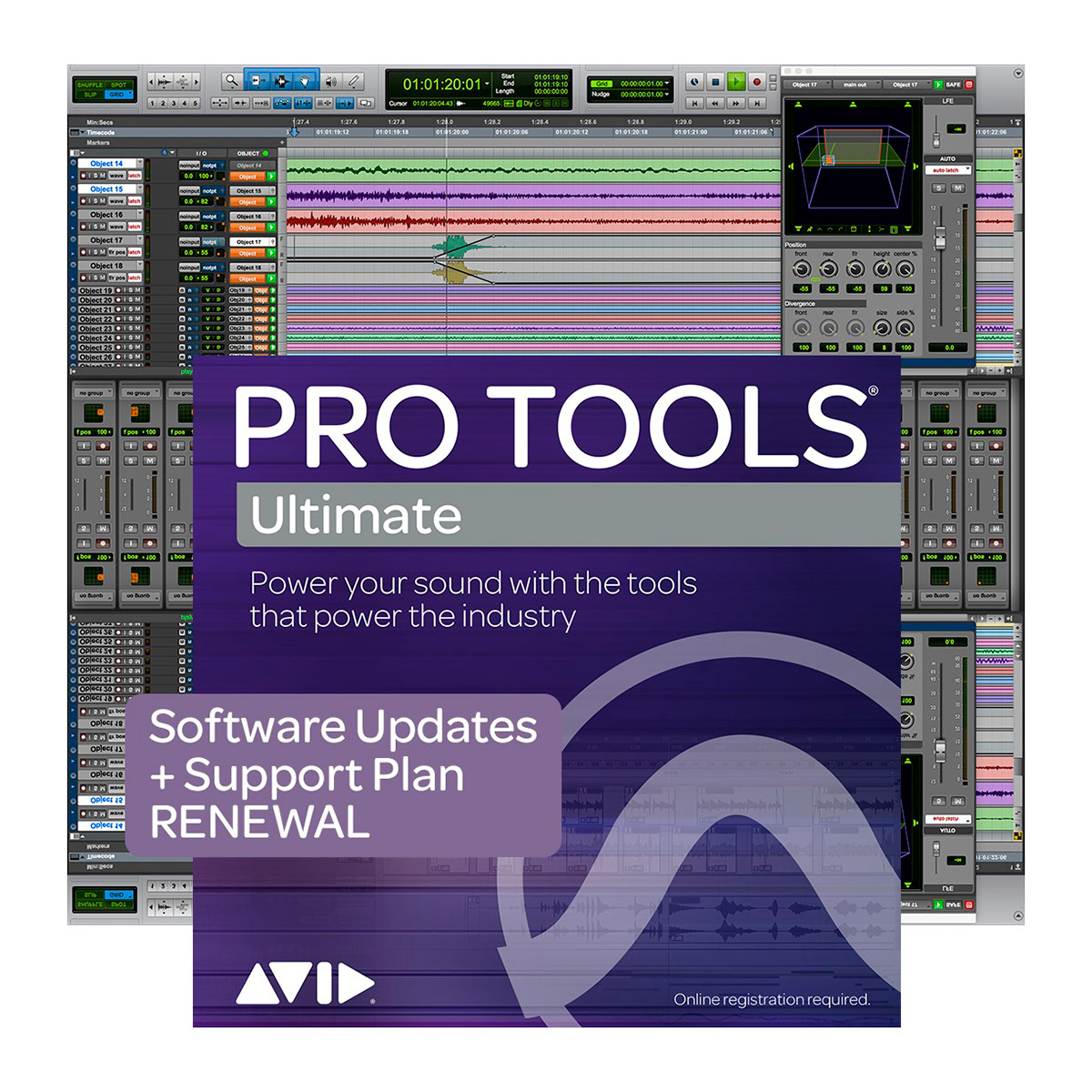 Pro Tools Ultimate Renouvellement