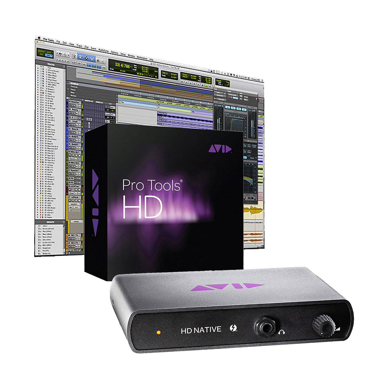 Upgrade Pro Tools HD Native Thunderbolt + Logiciel Pro Tools HD